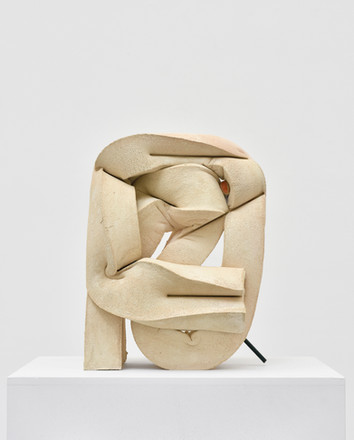 Untitled (Pencil), 2016 polyurethane foam, aluminum, glass, cement, tint, ink, clay, pencil 15.5 x 11.5 x 6 inches