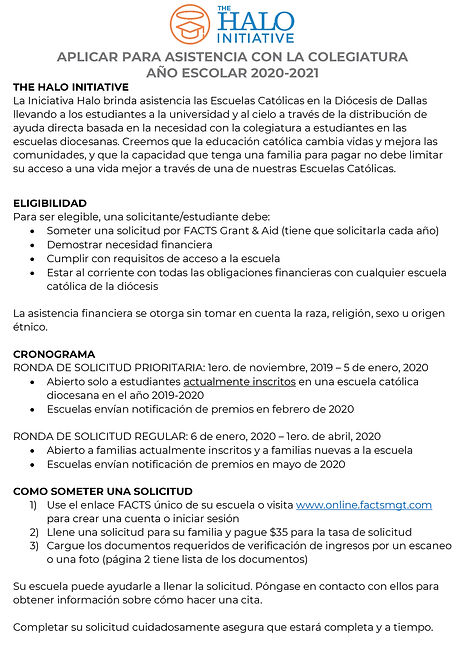 Halo Application Instructions Espanol 20