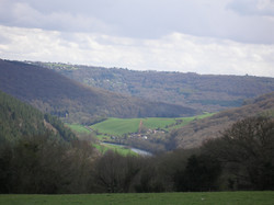View over St.Briavels