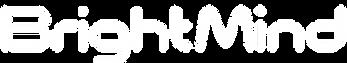 Bright Mind Logo White