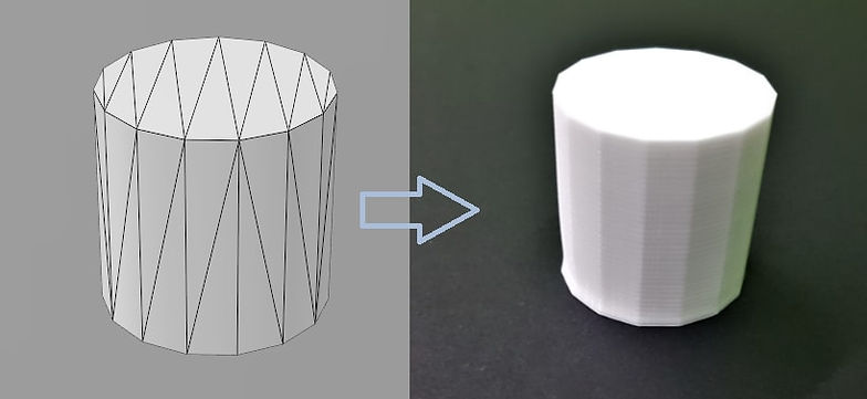 mesh density and 3D print resolution 2.j
