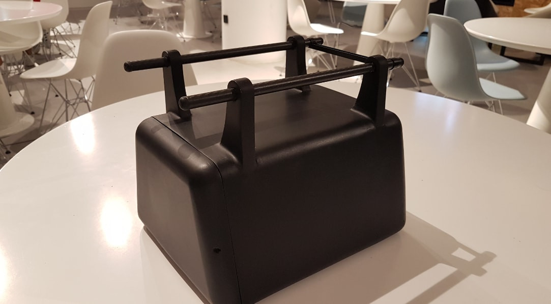 3D Printed Drone Cargo Box Side View.jpg