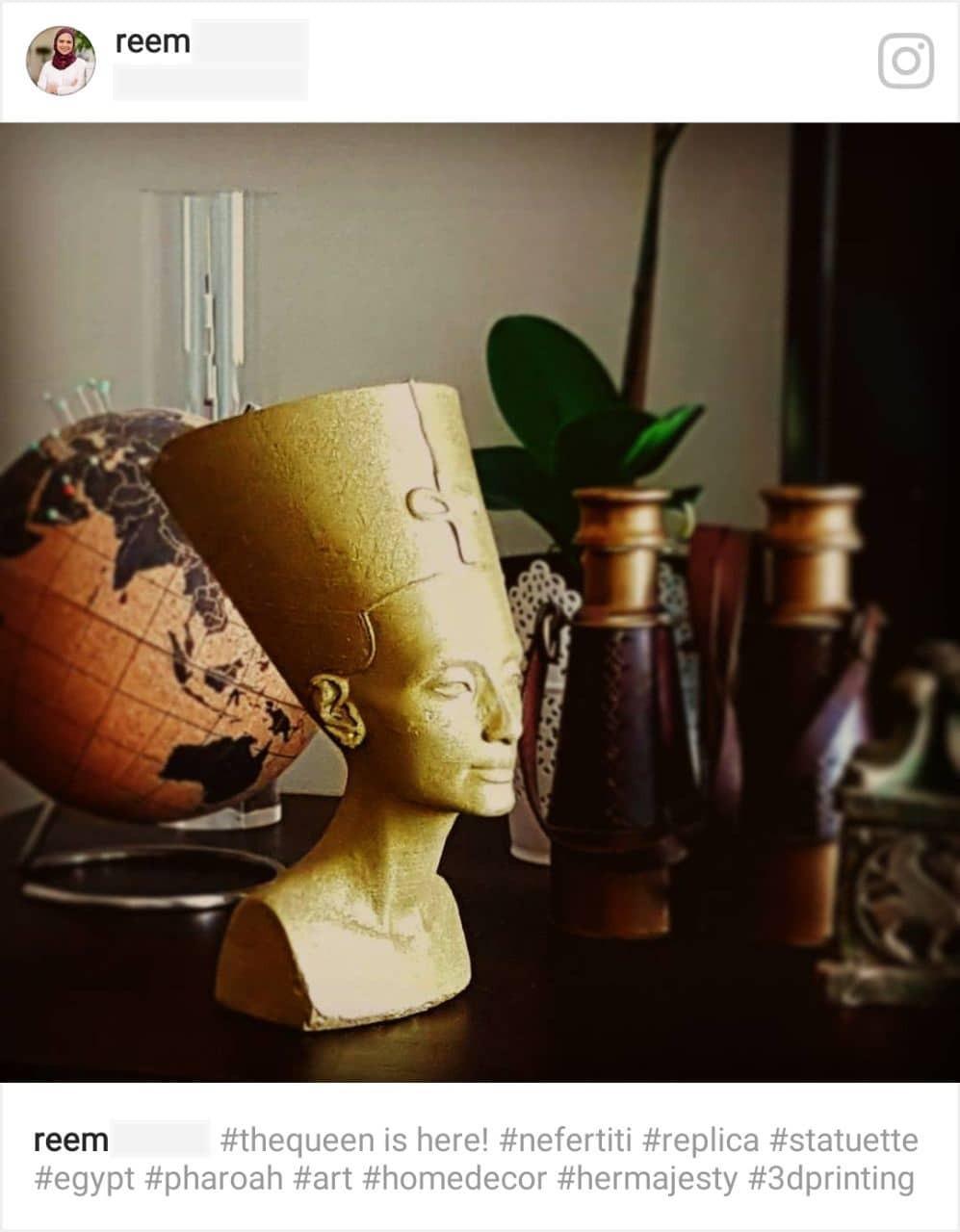 3D printed Nefertiti instagram.jpg