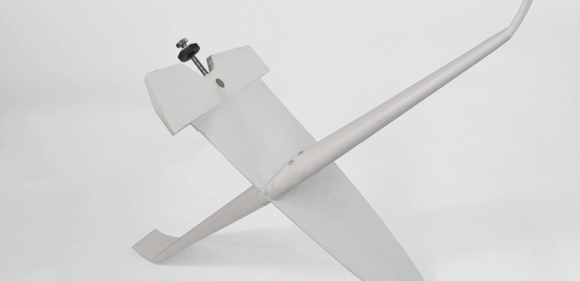 3D Printed Surfboard Fin - Side View.jpg