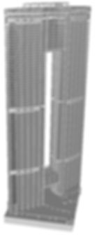 Tower structural CAD Model