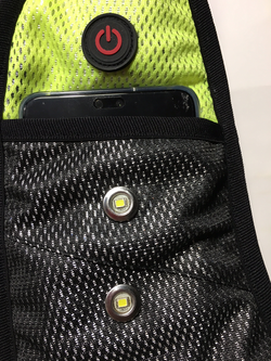 X-VISION  front pockets
