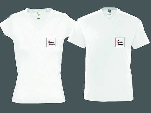 Tee-shirt blanc homme