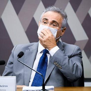 Senador Renan Calheiros pede prisão de Fábio Wajngarten; Aziz nega