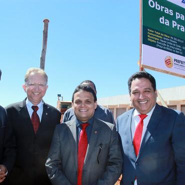 Águas Lindas ganhará um novo espaço de convivência com a construção da Praça da Bíblia