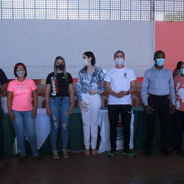 Campanha contra fome e frio em Águas Lindas arrecada 1,5 toneladas de alimentos