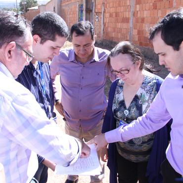 Hildo do Candango acompanha vistoria da Caixa Econômica Federal nas obras do Complexo Santa Lúcia