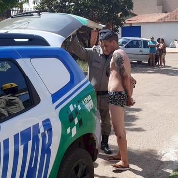 Filho mata a própria mãe enforcada em Águas Lindas, e iria enterrar no quintal de casa