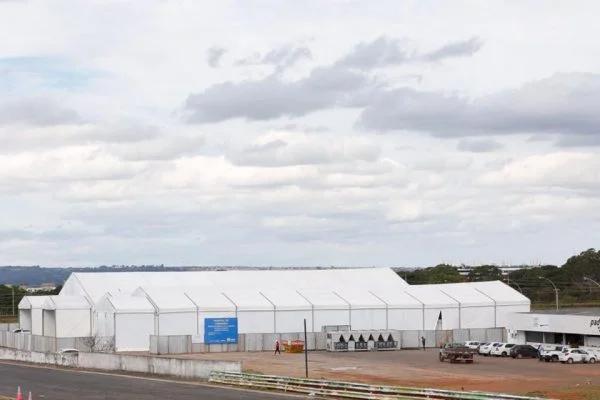 Hospital de Campanha do Autódromo será inaugurado nesta sexta com 100 leitos no DF