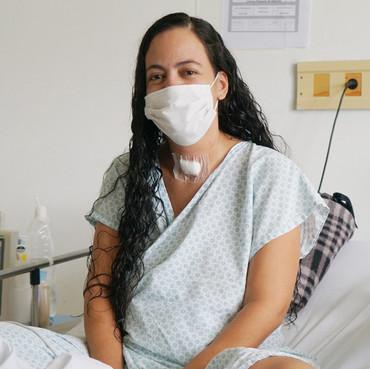 Após 22 dias do parto, mãe curada de covid-19 vê filho pela primeira vez no DF