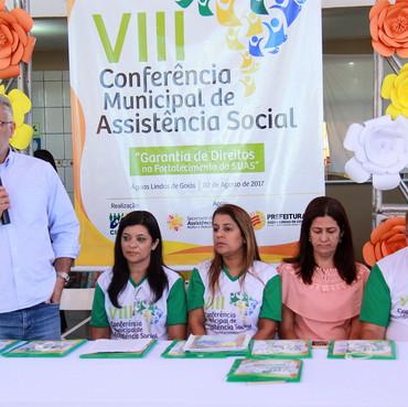 Prefeitura de Águas Lindas realiza a 8ª Conferência Municipal de Assistência Social