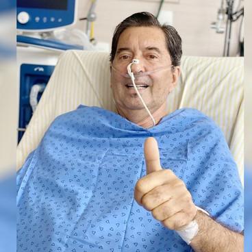 Maguito Vilela está em sedação leve na UTI e apresenta 'períodos prolongados de despertar'