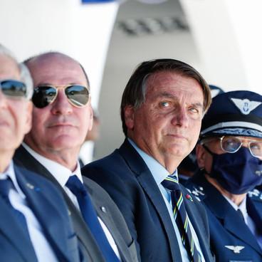 Bolsonaro volta a falar em defesa da liberdade em evento da Aeronáutica em SP
