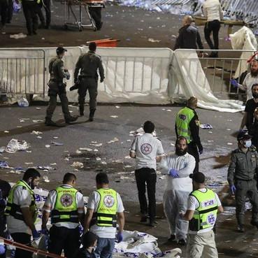 Tumulto em festival religioso deixa dezenas de mortos em Israel
