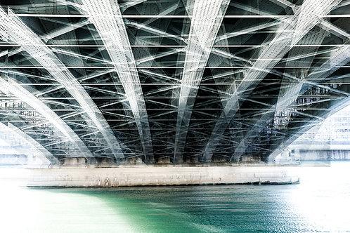 Sous le pont Lafayette