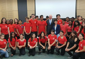 Choir Governor Visit to Youth Choir