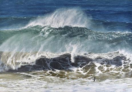 """Raging Seas"" - SOLD"