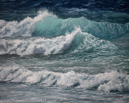 """""""Whitewater Waves"""" - SOLD"""