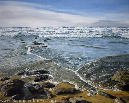 """Incoming Tide"" - SOLD"