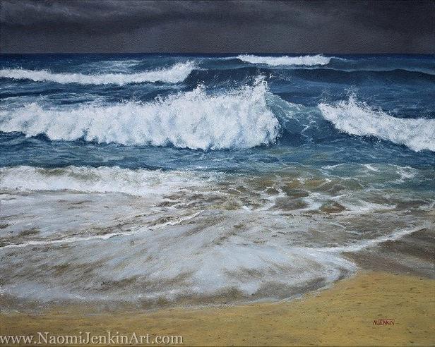 """Stormy Seas, Constantine"" - SOLD"