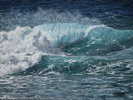 """""""Turquoise Peelers"""" - SOLD"""
