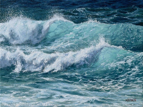 """Curling Waves"" - SOLD"