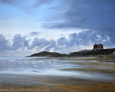 """""""Dawn over Fistral"""" - SOLD"""