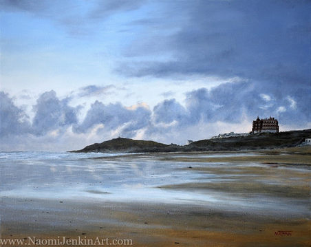 """Dawn over Fistral"" - AVAILABLE"