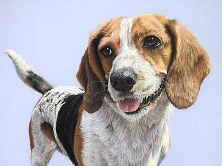 Bridget's portrait has arrived!
