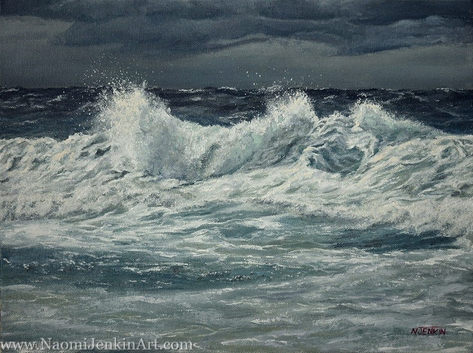 """Whipping Up A Storm"" - SOLD"