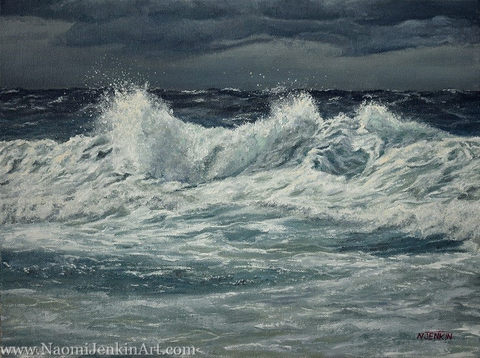 """""""Whipping Up A Storm"""" - SOLD"""