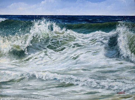 """""""Foamy Surf"""" - AVAILABLE"""