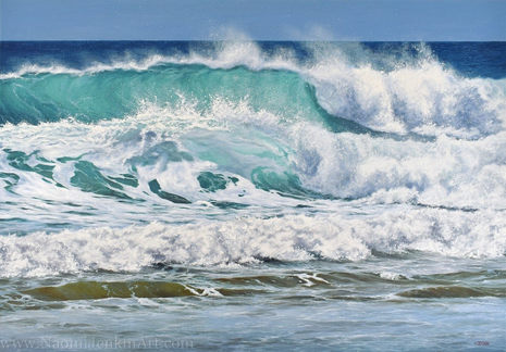 """""""Summer By The Ocean"""" - SOLD"""