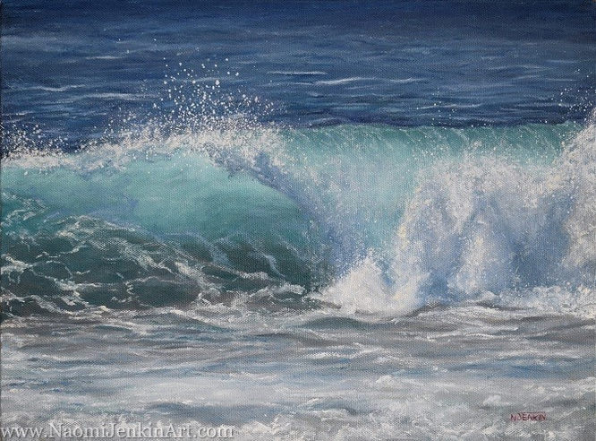 """Summer Beachbreak"" - SOLD"