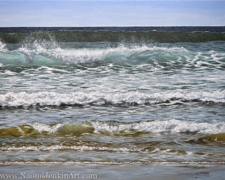 """""""Summer Surf"""" - AVAILABLE"""