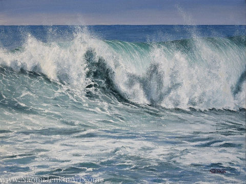 """""""Offshore Spray"""" - SOLD"""