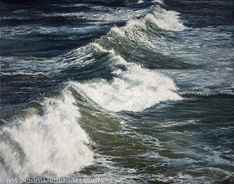 """""""Winter Swell"""" - SOLD"""