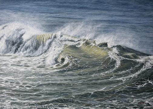 """""""Ocean Turmoil"""" - SOLD"""