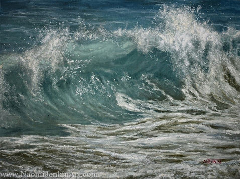 """""""Churning Water"""" - SOLD"""