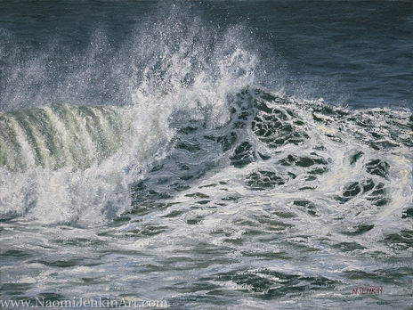 """""""Froth and Spray"""" - SOLD"""