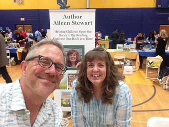 David and I Hudson Children's Book Fest
