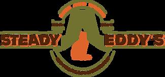 Steady Eddy logo Rise and Grind Bold fon
