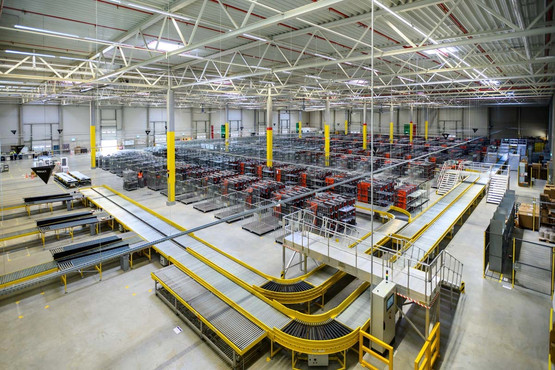 Amazon Sortierzentrum