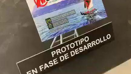 Carlos Pich de PANORAMANAUTICO.COM nos presenta el Mothquito, el primer foiler o barco volador español
