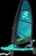 Surficat, IFS, verde, surfing de vela ligera, windsurfing, surf a vela, catamaran surf, Mothquito surf
