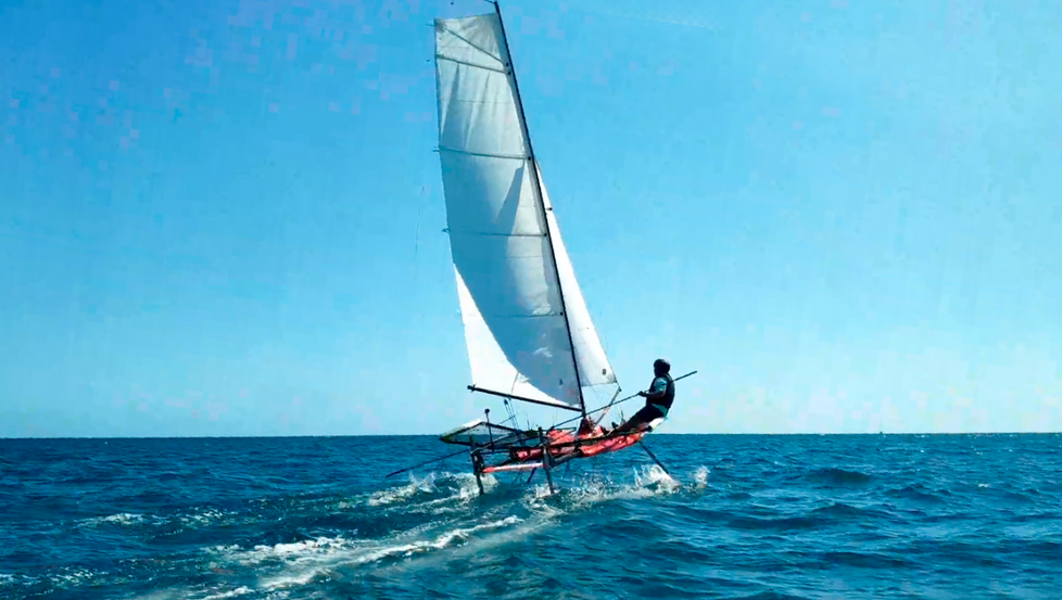 MOTHQUITO - FIRST SAILING TRIAL